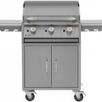 Bull Plancha Griddle Gas BBQ Cart (Propane)