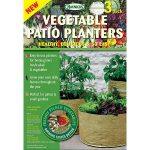 Vegetable Patio Planters (3 Pack)