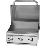 Bull Plancha Built In 3 Burner Gas Griddle BBQ (Propane)