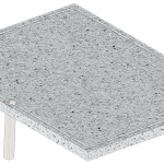 Bull BBQ Volcanic Rock Griddle/Pizza Stone