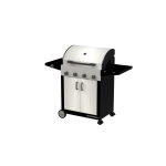 Cadac Entertainer Supreme 4 Burner w/ Side Burner Gas BBQ (Stainless Steel) Gas BBQ