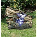 Bermuda Heartwood Woodland Collection Water Feature