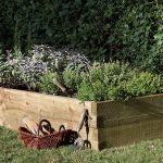 Forest Garden Caledonian Rectangular Bed 180 x 90cm