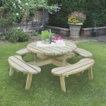 Forest Garden Circular Picnic Table