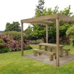 Forest Garden Dining Pergola (without panels)