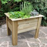 Forest Garden Deep Root Planter 1m