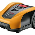 Orange/Yellow Top Cover for Bosch Indego Robotic Lawnmower