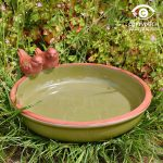 Wildlife World Green Dipper Bird Bath
