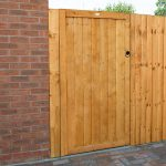 Forest Garden 6ft Featheredge Gate (1.82m High)