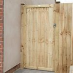 Forest Garden 6ft Pressure Treated Featheredge Gate (1.80m High)