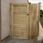 Forest Garden 6ft Pressure Treated Square Lap Gate (1.83m High)