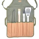 Fallen Fruits BBQ Apron with Tools