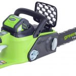 Greenworks GD40CS40K2 40v Brushless 40cm (16″) Chainsaw with battery and charger NEW