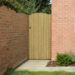 Forest Garden 6ft Heavy Duty Dome Top Tongue & Groove Gate (1.80m High)