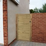 Forest Garden 6ft Horizontal Tongue & Groove Gate (1.83m High)