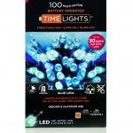 Premier 100 Multi Action Battery LED Christmas Lights (Blue)