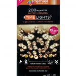 Premier 200 Multi Action Battery LED Christmas Lights (Warm White)