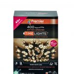 Premier 400 Multi Action Battery LED Christmas Lights (Warm White)
