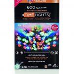 Premier 600 Multi Action Battery LED Christmas Lights (Multi-Colour)