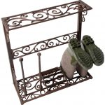 Fallen Fruits Cast Iron Boot Rack Small