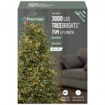 Premier 3000 Multi Action LED Treebrights With Timer (Warm White)