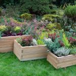 Forest Garden Durham Rectangular Planter (Set of 3)