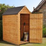 Forest Garden Apex Overlap Dipped No Window 3 x 5 Wooden Garden Shed