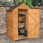 Forest Garden Apex Overlap Dipped No Window 4 x 3 Wooden Garden Shed