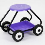 Bullbarrow Scoot Wheelbarrow Kneeler (Lilac)
