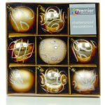 Premier Christmas Champagne Decorated Bauble Balls