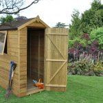 Forest Garden Apex Tongue & Groove Pressure Treated 6 x 4 Wooden Garden Shed