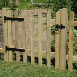 Forest Garden 3ft Ultima Pale Gate (0.90m High)