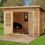 Forest Garden Harwood Log Cabin 3.0m x 2.0m (ASSEMBLED)