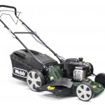 Webb R18HW 18″ Self Propelled Steel Deck High Wheel Petrol Rotary Mower