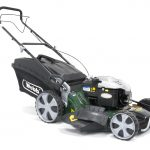Webb R21HW 21″ Self Propelled Steel Deck High Wheel Petrol Rotary Mower
