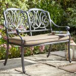 Hartman Amalfi Bench & Cushion (Bronze / Amber)