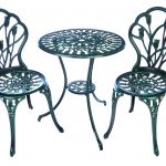 Premier Versailles 2 Seater Dark Green Bistro Set