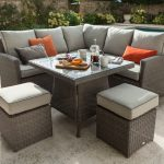 Hartman Appleton Square Casual Weave Dining Set with Cover (Slate/Stone)