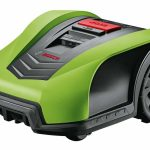 Yellow/Green Top Cover for Bosch Indego Robotic Lawnmower