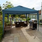 LG Outdoor Hamilton 3.0m Pop-up Gazebo – Navy Blue