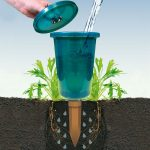 Bio Green Hydro Cup Raised Bed Watering System (1 Watering Stake + 1 Cup)