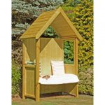 Shire Hebe Pressure Treated Arbour