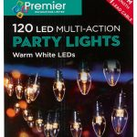 Premier 120 Multi Action LED Party Lights With Timer (Warm White)