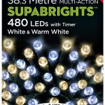 Premier 480 Multi Action LED SupaBrights With Timer (White/Warm White)