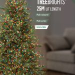 Premier 1000 Multi-Action TreeBrights with Timer LED Christmas Lights (Multi Colour)