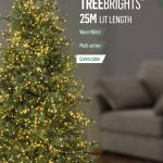 Premier 1000 Multi-Action TreeBrights with Timer LED Christmas Lights (Warm White)