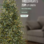 Premier 1000 Multi Action LED TreeBrights Timr White/Warm White Mix