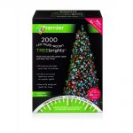Premier 2000 Multi Action LED Treebrights With Timer (Multi-Colour)