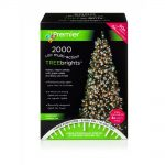 Premier 2000 Multi Action LED Treebrights with Timer (White/Warm White)