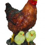 Vivid Arts Real Life Hen with Chicks – Size B